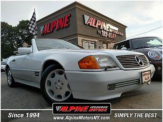 1993 Mercedes-Benz 500 SL VIN: WDBFA67E0PF076450