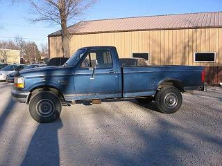 1995 Ford F-250 XL VIN: 2FTHF26F4SCA65566