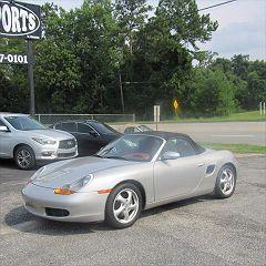 1997 Porsche Boxster Base VIN: WP0CA2986VS624895