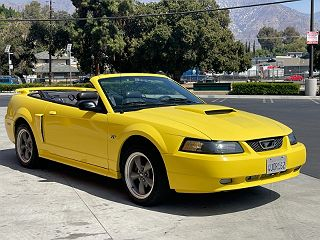 2001 Ford Mustang GT VIN: 1FAFP45X11F253495