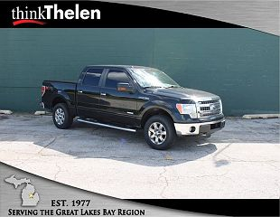 2013 Ford F-150 XLT VIN: 1FTFW1ET0DFC51525