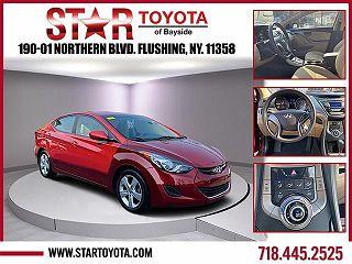 2013 Hyundai Elantra GLS VIN: 5NPDH4AE3DH437575