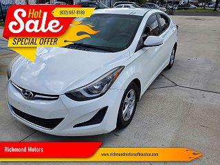 2014 Hyundai Elantra SE VIN: 5NPDH4AE4EH492103