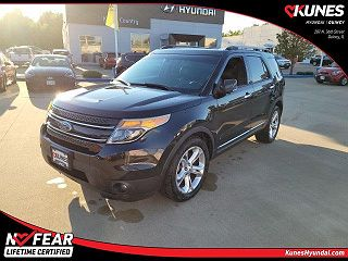 2015 Ford Explorer Limited Edition 1FM5K7F86FGB97676 in Quincy, IL 1