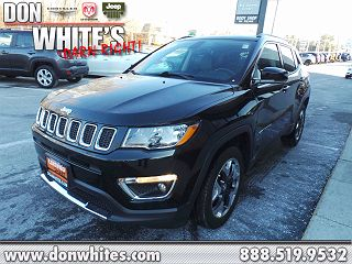 2017 Jeep Compass Limited Edition VIN: 3C4NJDCB4HT640363
