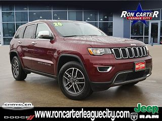 2020 Jeep Grand Cherokee Limited Edition VIN: 1C4RJEBGXLC429662